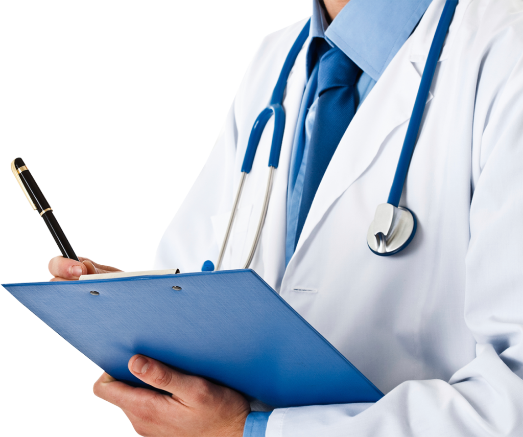 Doctor-With-Notepad-PNG-Image